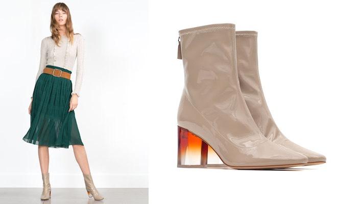 Scarpe Zara donna autunno inverno 2015-2016. Prezzi - Scarpe Alte ... 2343ed31e6ea