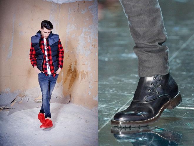 Scarpe uomo moda inverno 2015-2016