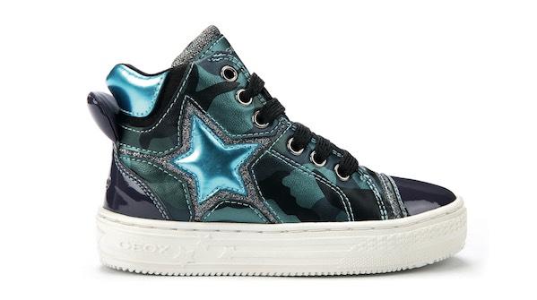 Sneaker bambina Geox autunno inverno 2015-2016