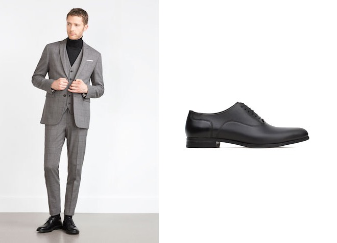 Zara Uomo inverno 2016 scarpe vestiti