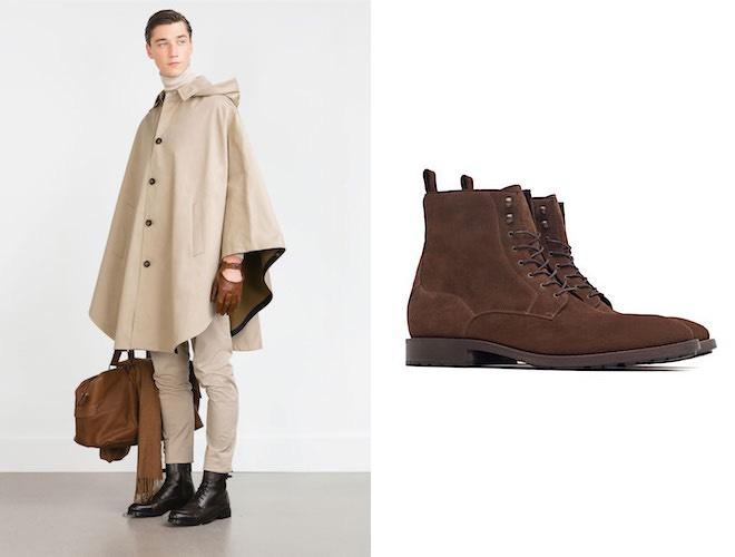 Zara uomo inverno 2015-2016