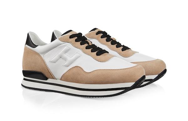 scarpe suola alta donna hogan