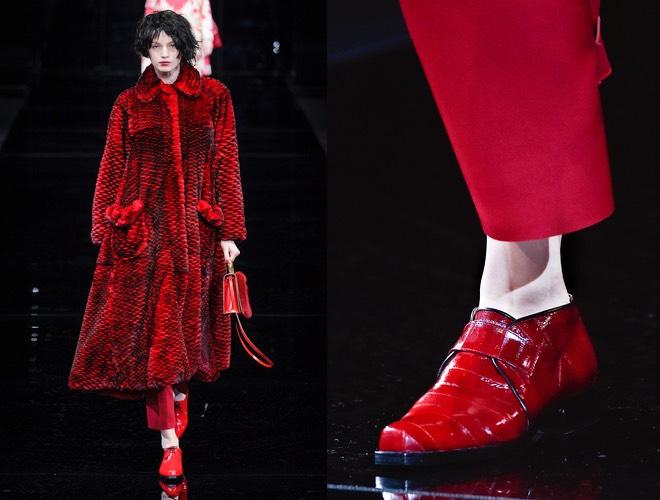 Emporio Armani inverno 2015  scarpe alte basse e bicolore - Scarpe ... 59296d26dc1