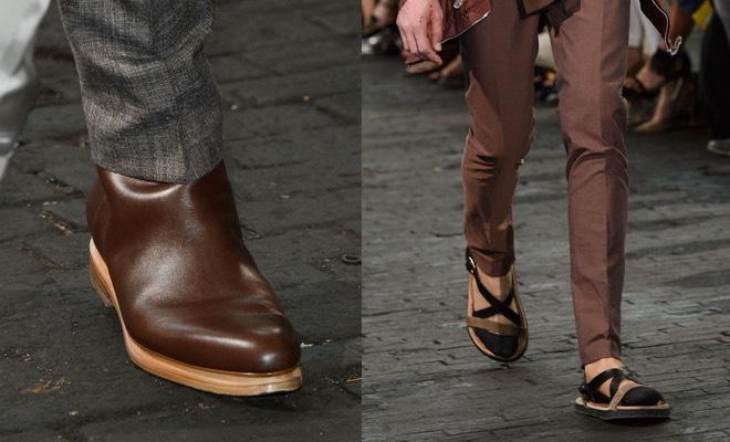 Martin margiela scarpe uomo estate 2016 tra stivali for Ma maison scarpe