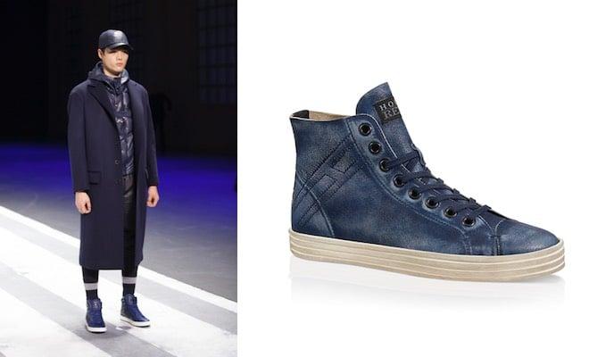 scarpe alte uomo hogan