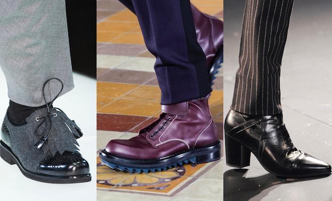 scarpe moda uomo autunno inverno 2015-2016