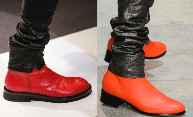 scarpe rosse uomo inverno 2016