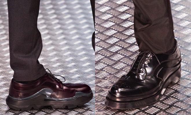 scarpe uomo Prada inverno 2015-2016