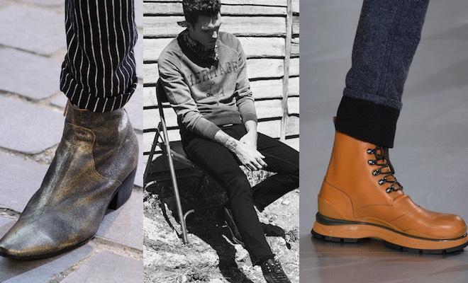 scarpe uomo pantaloni stretti