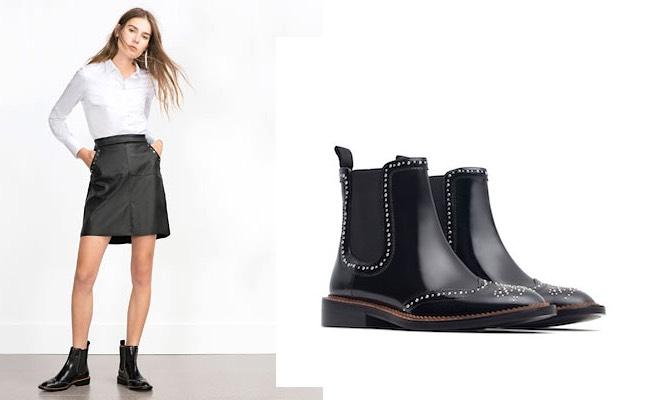 stivaletti Zara inverno 2015-2016