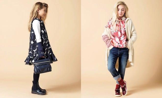 twin set scarpe vestiti bambine autunno inverno 2015-2016