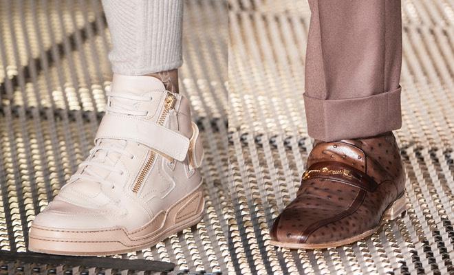 Versace scarpe uomo inverno 2015