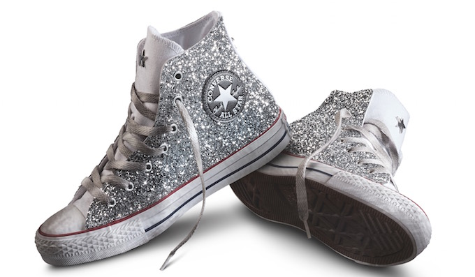 converse all star bimba glitter