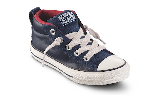 all star converse pelle bambina