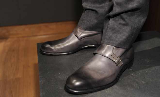 Gieves & Hawkes scarpe inglesi uomo inverno 2016