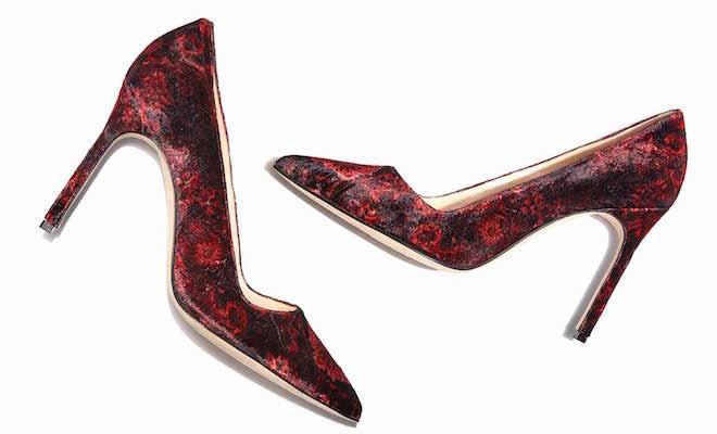 Manolo Blahnik scarpe inverno 2015-2016