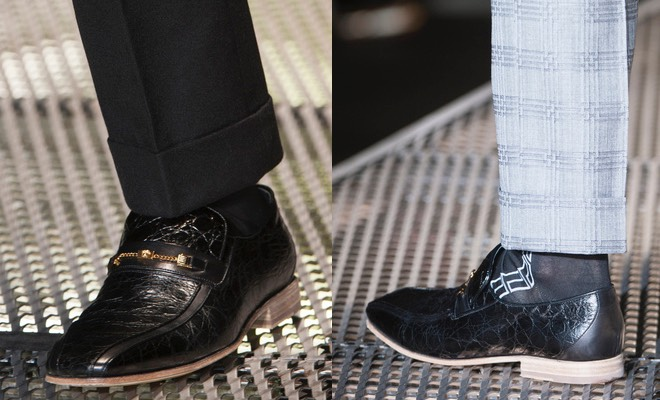 Scarpe uomo Versace inverno 2016
