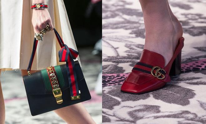 e8e0b7150f Gucci scarpe e borse estate 2016, tra mocassini e stile vintage ...