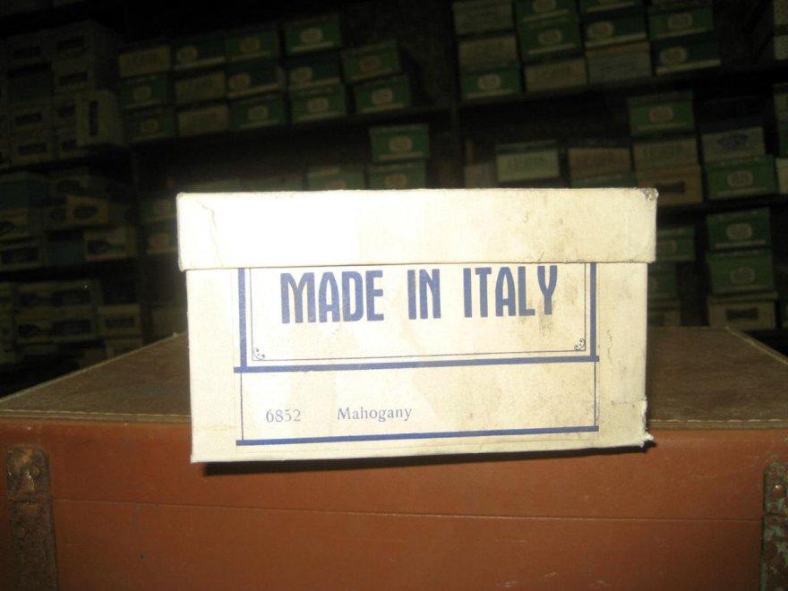 scarpe abbandonate made in italy