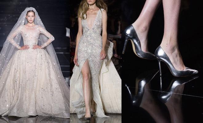scarpe abiti sposa inverno 2016