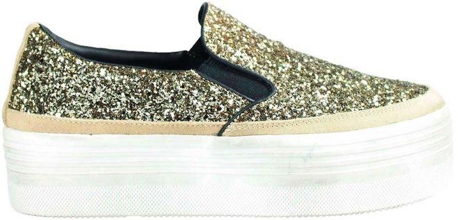 scarpe oro glitter inverno 2016
