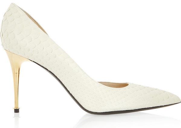 scarpe sposa chiuse