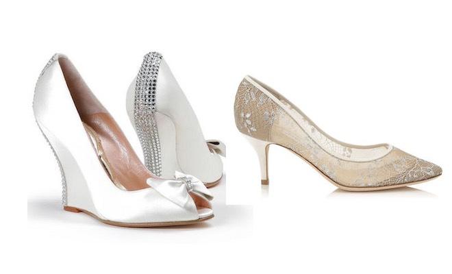scarpe sposa inverno 2015