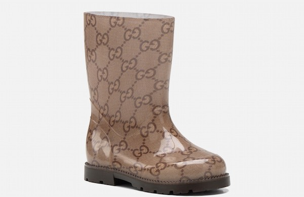 stivali pioggia bambino gucci
