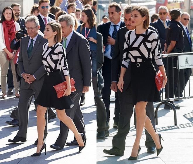 Letizia di Spagna nuovo look 2015