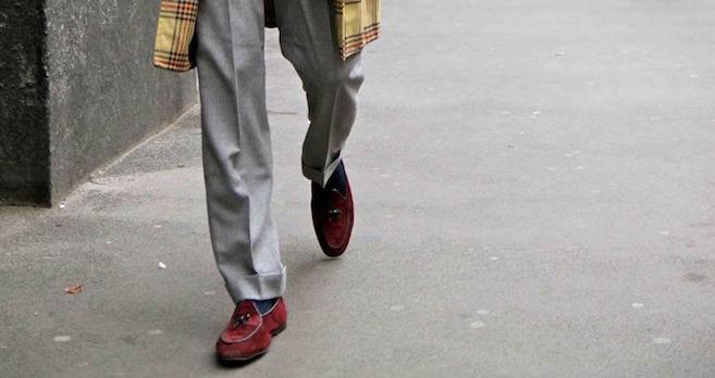 Rubinacci scarpe e pantaloni