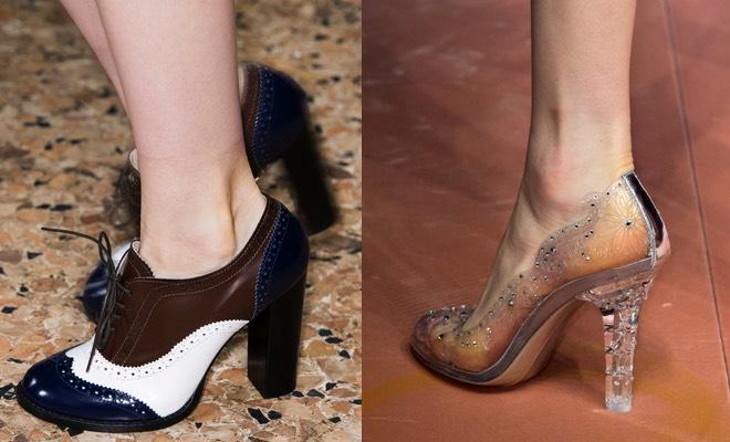 Scarpe con tacco 2016