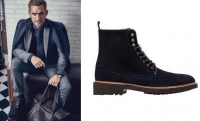Scarpe e vestito Massimo Dutti inverno 2016