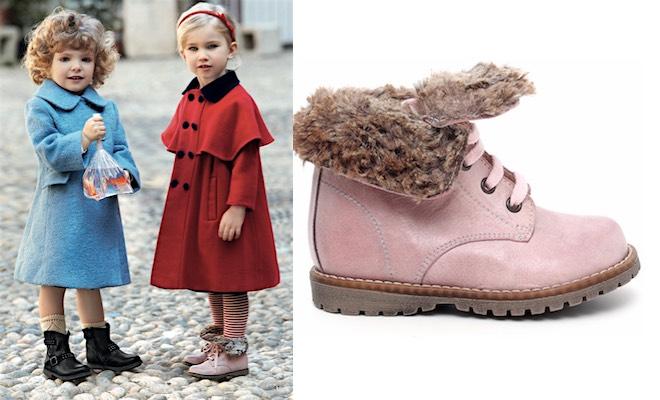 Scarpe inverno 2016 bambina Giardini