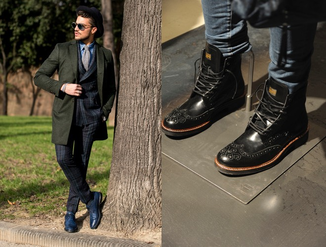 Scarpe da uomo scarpe da uomo stivali calde per uomo Moda