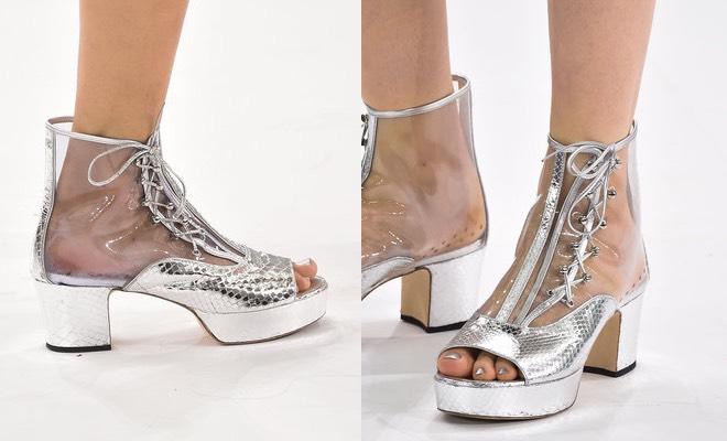 Tutte le scarpe di chanel estate 2016 tra stringate for Ma maison scarpe