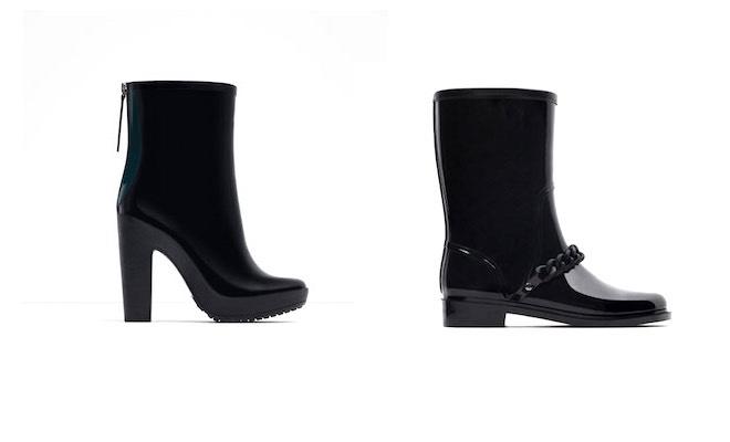 Stivaletti pioggia Zara 2016