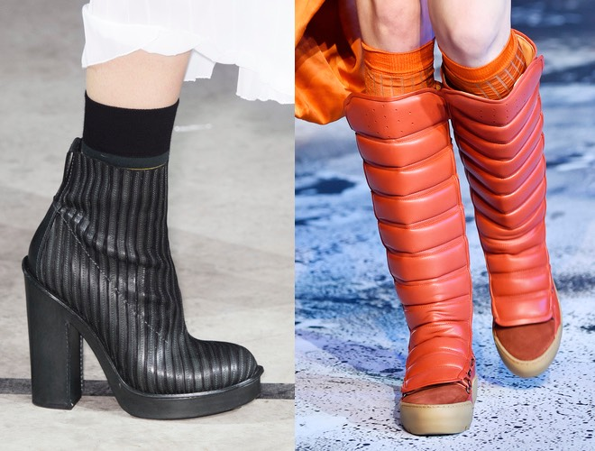 Stivali e calzini donna inverno 2015