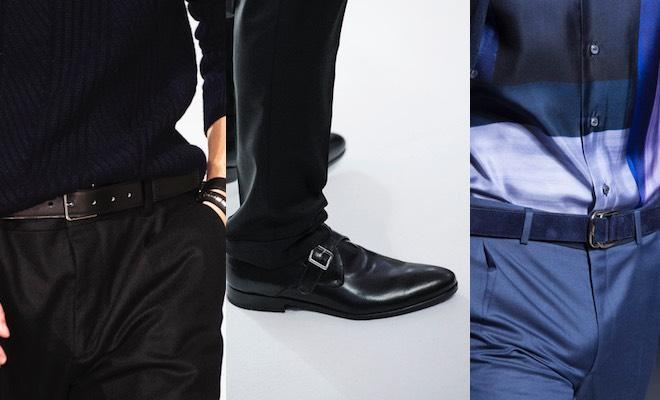 abbinare scarpe cintura