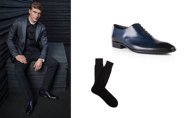 Uomo calze e scarpe