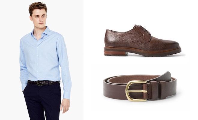 Super carino massima qualità stili freschi Come abbinare le scarpe alla cintura. Regole di stile e ...