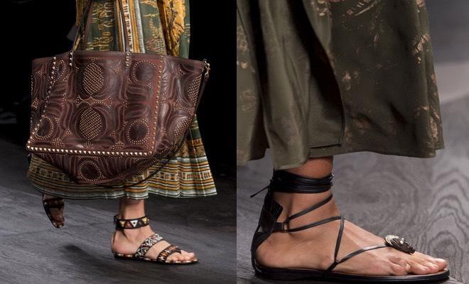 Valentino estate 2016 scarpe borse