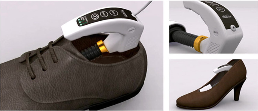 asciugatore scarpe portatile
