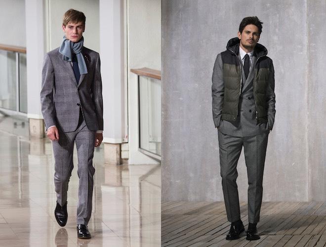 moda uomo scarpe abito grigio