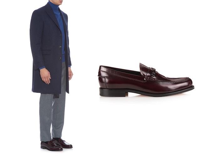 scarpe bordeaux abbinamenti