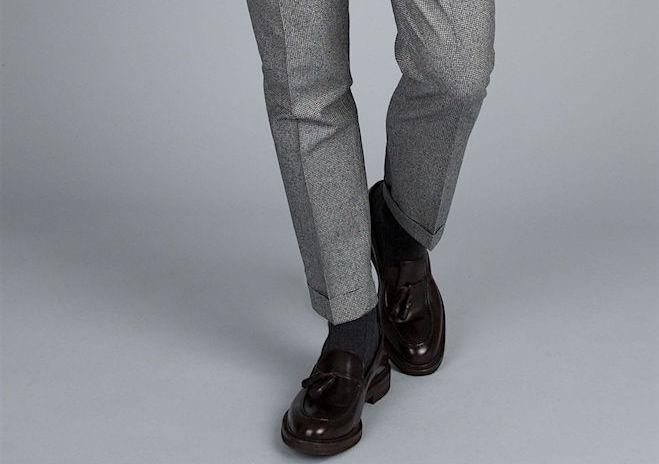 Favorito Uomo: scarpe, calze e pantaloni. 5 regole di stile per non  FH27