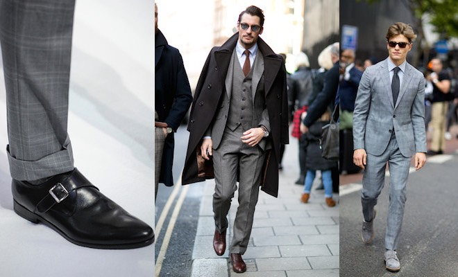 new product 1aca3 296b8 Scarpe uomo per abito grigio, come abbinarle - Scarpe Alte ...