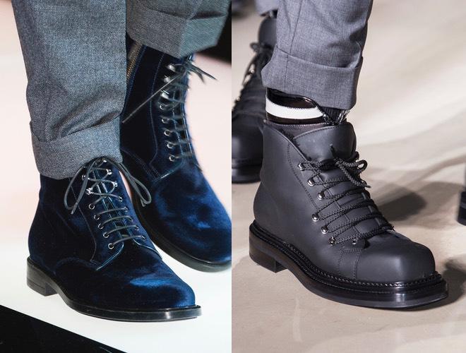 scarpe uomo pantaloni grigi