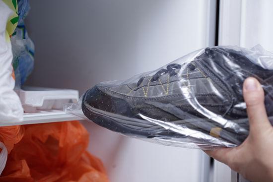 scarpa in freezer