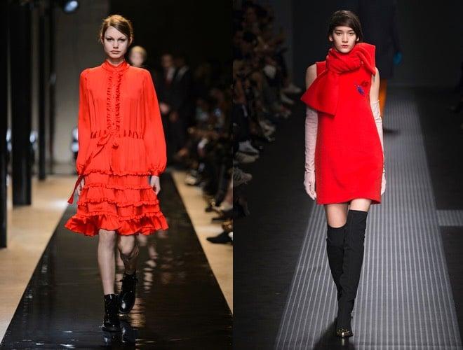 Vestito rosso e scarpe nere – Abiti in pizzo b5fad221b8a