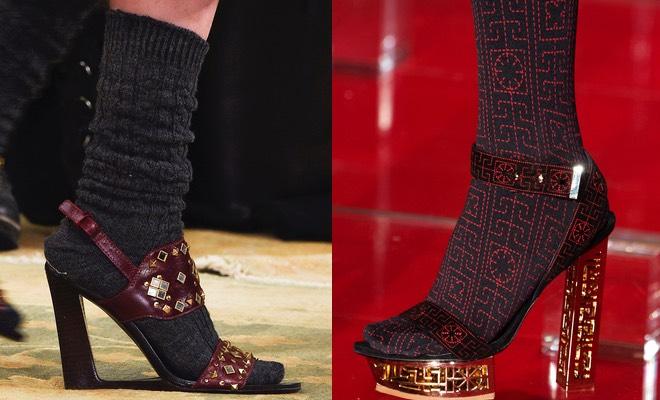 Sandali calze calzini